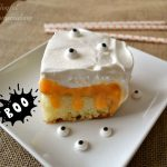 TruMoo Orange Scream Poke Cake