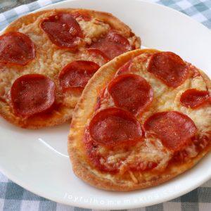 , Naan Bread Pizzas,