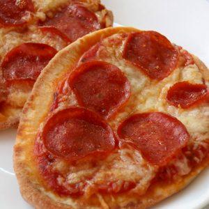 Naan Bread Pizzas
