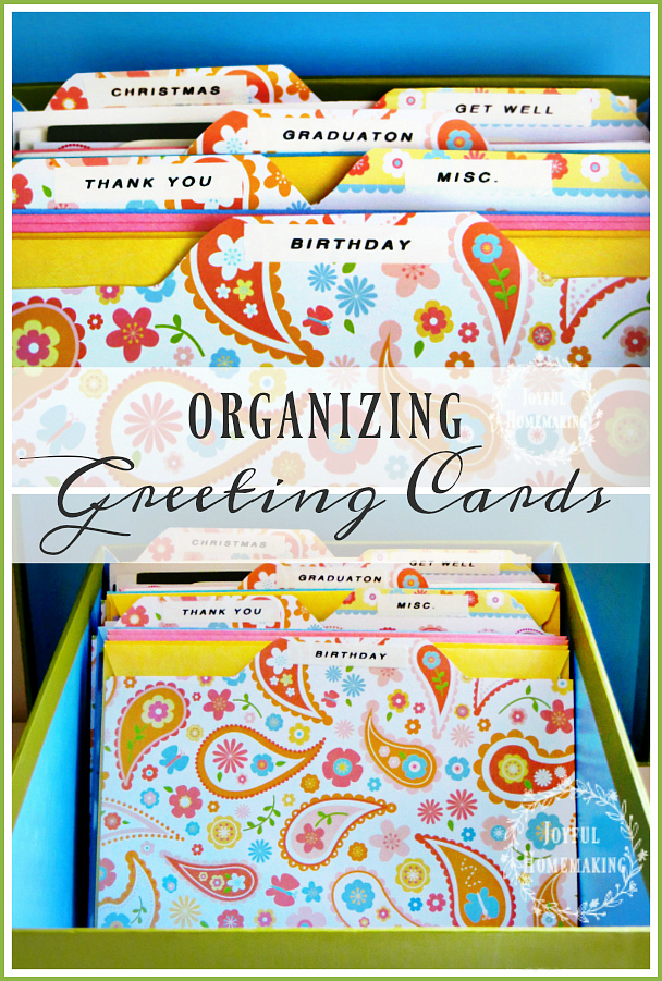 organizing-greeting-cards