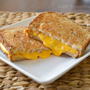 Grilled Cheese in the Oven, Joyful Homemaking