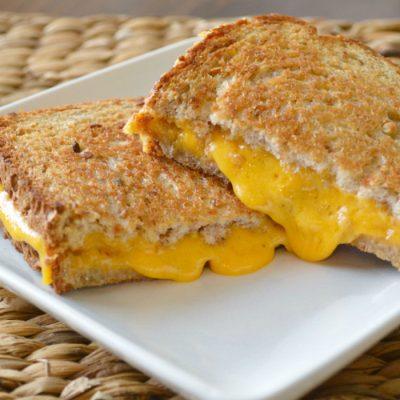 Grilled Cheese in the Oven