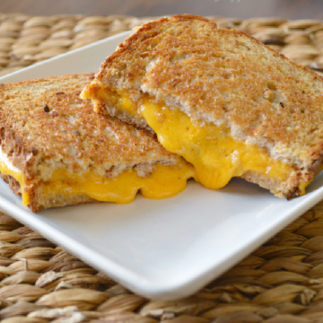 oven baked grilled cheese