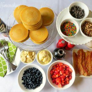 Pancake Bar, Joyful Homemaking