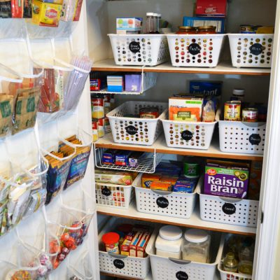 10 Tricks for Organizing Your Pantry
