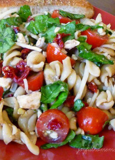 BLT pasta salad, BLT Pasta Salad, Joyful Homemaking