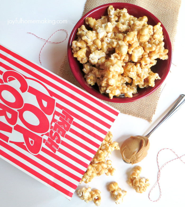 Peanut Butter Popcorn Recipe