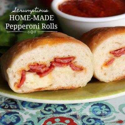 Pepperoni Rolls