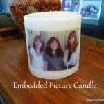 Photo Transfer onto a Candle