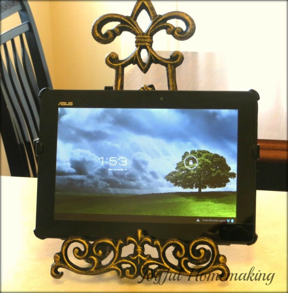 , Tablet Stand and More, Joyful Homemaking