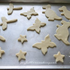 Pie Crust Cookies, Joyful Homemaking