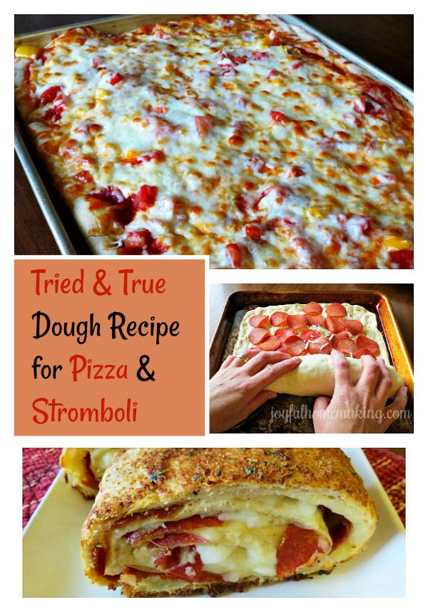 Dough Recipe for Pizza and Stromboli