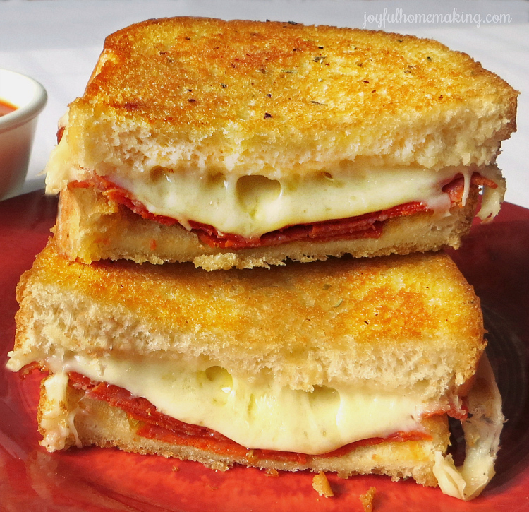 how to cook grilled cheese in oven