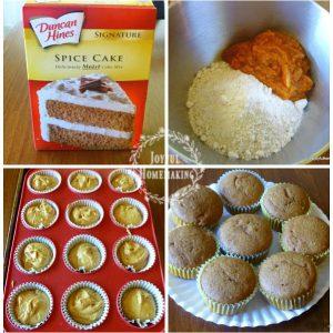 pumpkin cupcakes, Pumpkin Spice Cupcakes, Joyful Homemaking