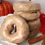 Easy Pumpkin Glazed Doughnuts
