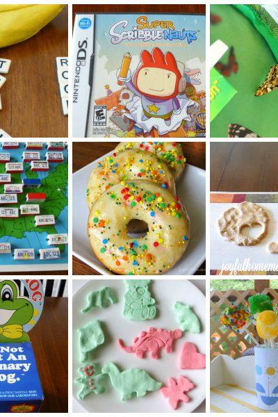 Educational Games Activities, Educational Games and Activities for Kids, Joyful Homemaking