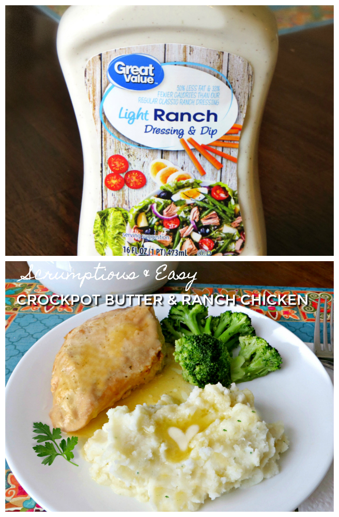 , Crockpot Butter and Ranch Chicken, Joyful Homemaking