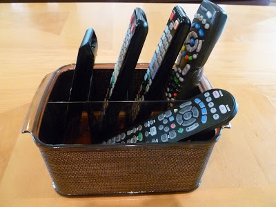 remote control caddy