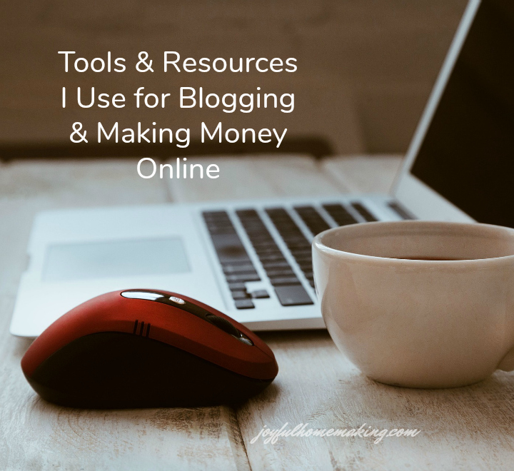 Tools I use for blogging and making money online