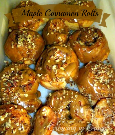 rhodes maple cinnamon rolls