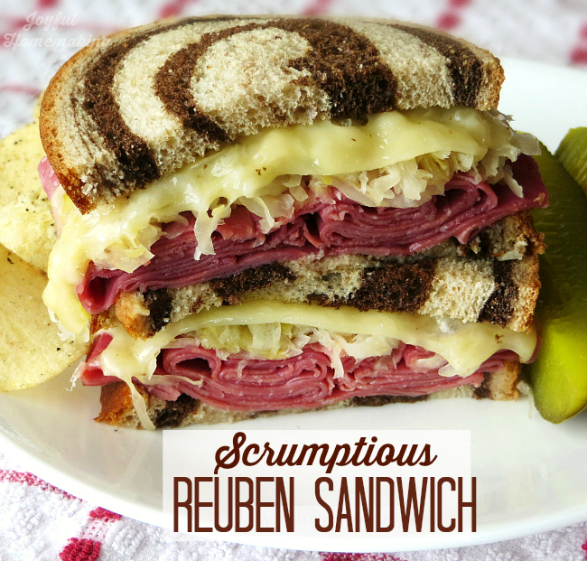 reuben, Grilled Reuben Sandwich, Joyful Homemaking