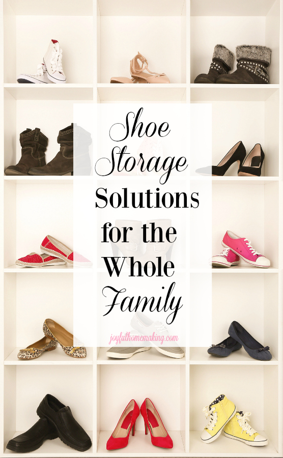 Shoe storage and organization