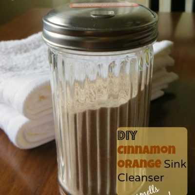 Homemade Natural Sink Cleanser