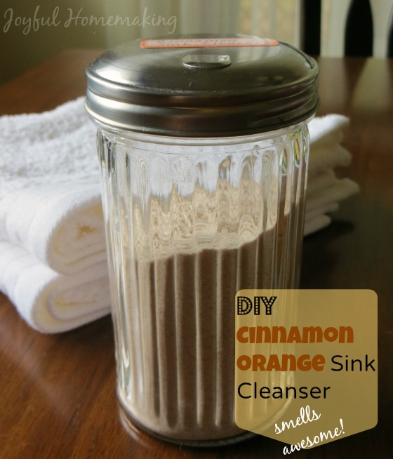 homemade sink cleanser