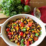 Southwestern Black Bean and Vegetable Salad