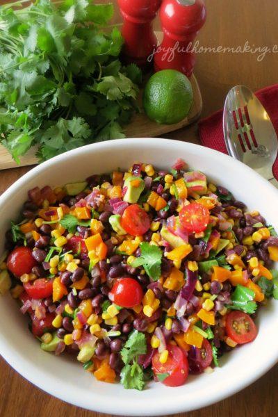 Southwest chicken salad, Southwestern Chicken Salad, Joyful Homemaking
