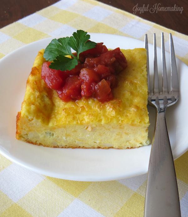 southwestern egg casserole2