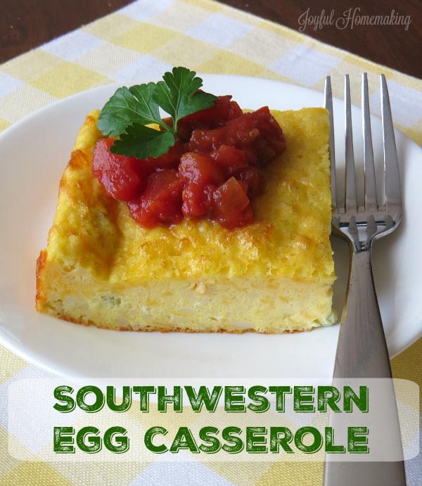 southwestern egg casserole3