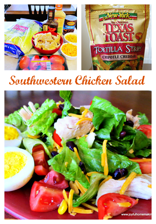 Southwestern Salad with Chicken