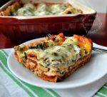 Delicious Meatless Spinach Lasagna