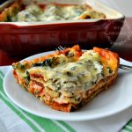 Delicious Meatless Spinach Lasagna