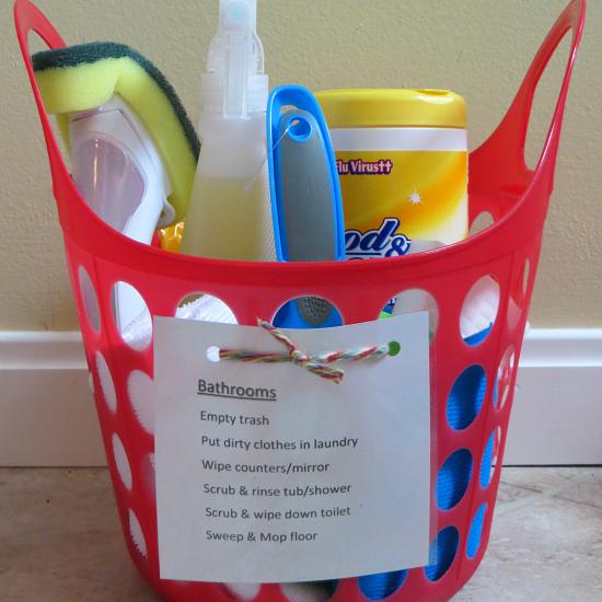 Chore Kits with Printable