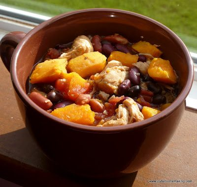 Quinoa, Chicken & Sweet Potato Stew