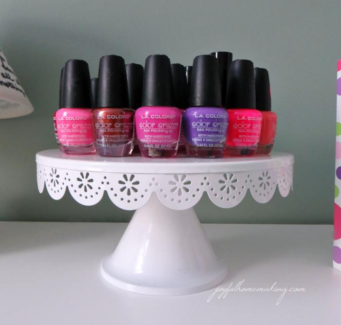 nail polish storage, Nail Polish Storage, Joyful Homemaking