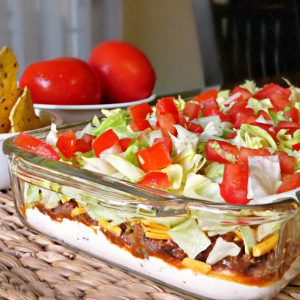 Everybody's Favorite Layered Taco Dip