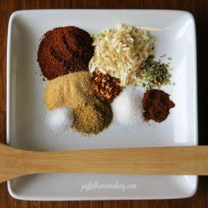 DIY Taco Seasoning, Make Your Own Taco Seasoning, Joyful Homemaking