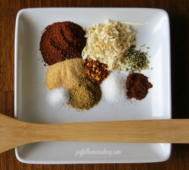 Make Your Own Taco Seasoning