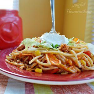 taco pasta, Taco Pasta, Joyful Homemaking