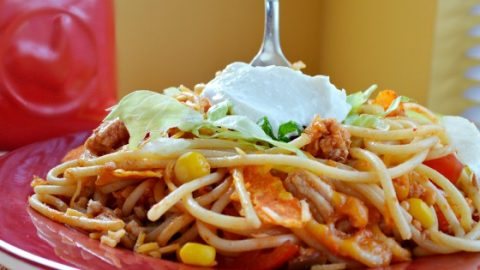 Taco Pasta Joyful Homemaking