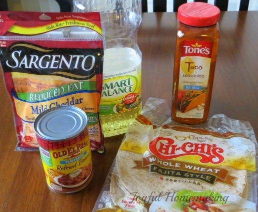 bean taquitos, Crispy Bean Burritos (Taquitos), Joyful Homemaking