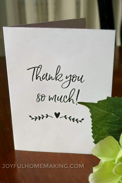 Printable Husband Birthday Card, Printable Birthday Card and Envelope, Joyful Homemaking