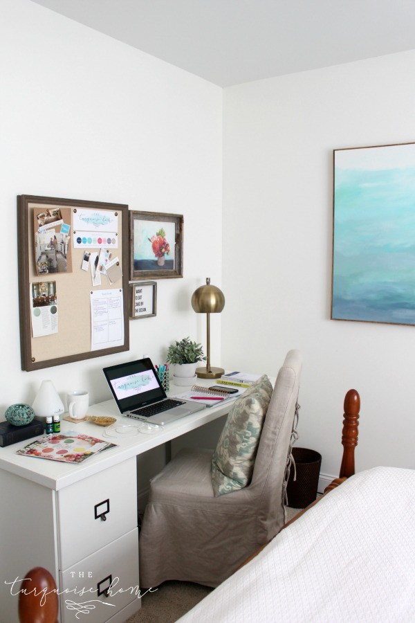 An Organized Work Day from The Turquoise Home