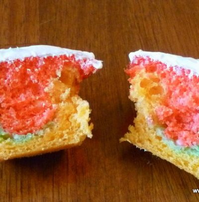 raspberry filled cupcakes, Quick and Easy Raspberry Frosted and Filled Cupcakes, Joyful Homemaking