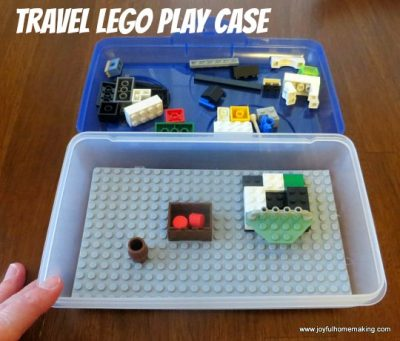 Travel Lego Case