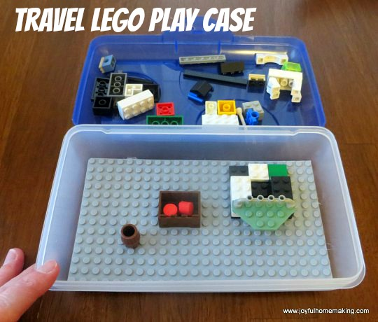 travel lego play case