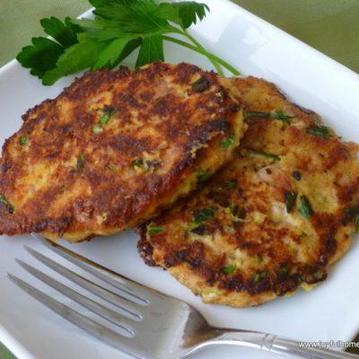 Tuna Cornbread Cakes